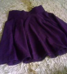 Ljubicasta suknjica