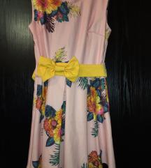 Cvetna svecana haljina