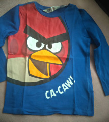Angry Birds majca za dečaka do 4 godina