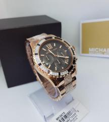 Michael Kors MK5875 - Rose Gold-Tone Glitz Everest
