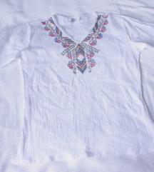 Indijska vezena bluza L NOVO