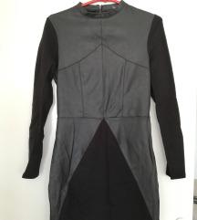 H&M nova kozna haljinica!