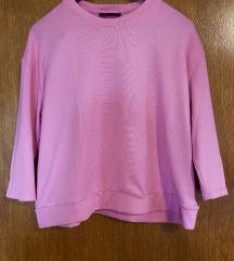 RESERVED roze džemperić