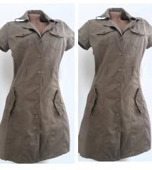 engleska mantil haljina bez  40