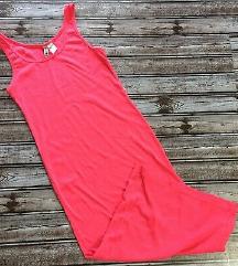 NOVO H&M divided haljina pink M