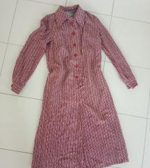 Vintage haljina iz 70s SNIZENO 500