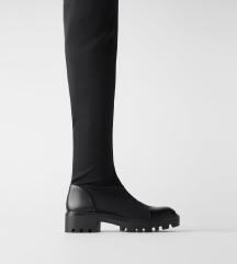 ZARA%% Over knee cizme kao nove