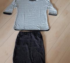 Kompletic❤ suknja+majica ❤