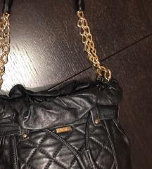 Mona, torba, kozna, crna