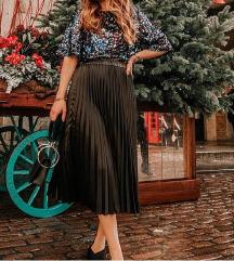 Novo,40 i 42,plisirana suknja