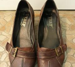 AKCIJA TREF braon kožne cipele