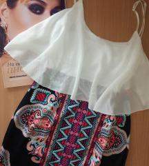 Letnja haljina na bretele S AKCIJA