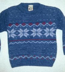 Džemperić za dečaka vel.74-80 kao Novo