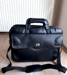 Kozna torba za laptop HP - kao Nova