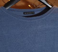 Plavi Terranova džemper XS