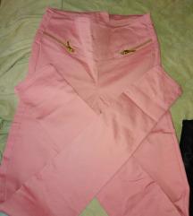Puder roze farmerice