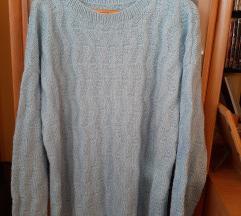 Džemper svetlo plavi XXL