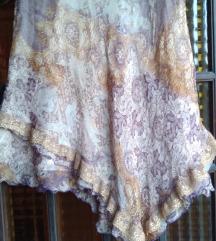 ***Suknja ***Made in Italy***Svila***