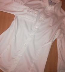 Mlečno bela Shooter košulja(smatrajte da je NOVA)
