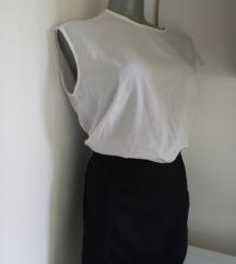 Calliope crno bela haljina M
