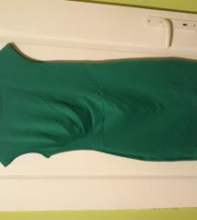 Prelepa smaragdno zelena haljina