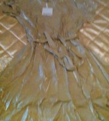 Zlatna haljina vel. 42, nova