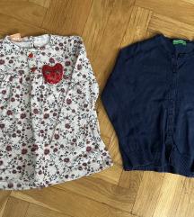 Bluza i jaknica beneton 86/92