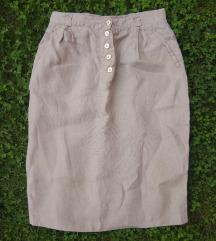 Safari lanena suknja 38/M