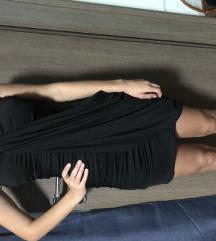 Kratka top crna haljinica