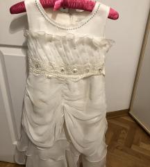 Svecana bela haljina za devojcice