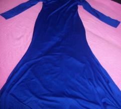 Plava svecana haljina C&A