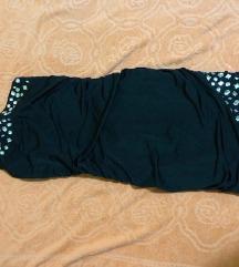 Tally weijl crna haljinica na jedno rame 34