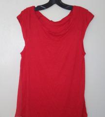 Crvena majica sa prozirnim ledjima