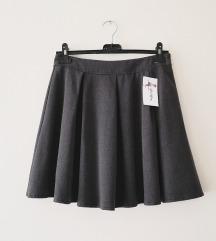 SNIŽENO!ITALY falte suknja NOVO
