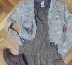 Crop jakna