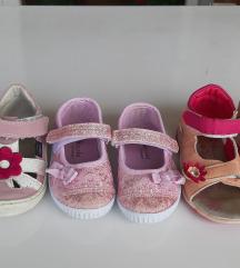 Sandalice 23 i 24, ug 14,5 i 15cm