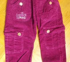 pantalone deblje somot 104