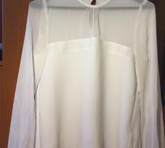 Elegantna bela bluzica ZARA