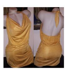 Yamamay zlatna haljina S/M SNIZENO SA 3100