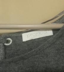 Promod,siva,bluza,m,l