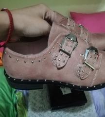 Nove roze cipele sa kaišićima