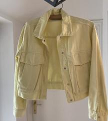 Zara bledo zuta jakna