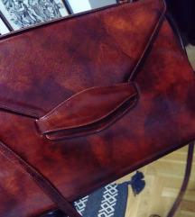 Vintage lakovana pismo torba %%%