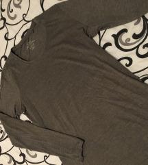 Siva majica dugih rukava