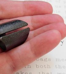 SIX riterski prsten u boji grafita NOV