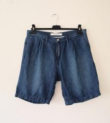 WRANGLER baggy denim lan shorts kao NOVO