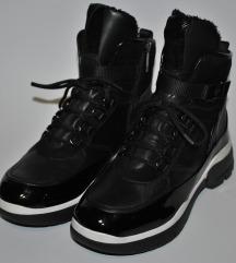 Hogl original nove kozne crne cizme