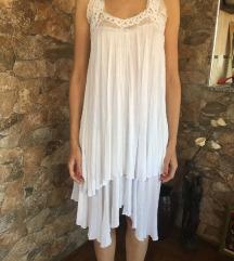 *Zara* leprsava bela haljina SNIZENO