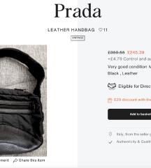 PRADA Vintage torba