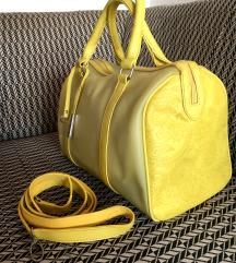 Polu providna limun zuta torba